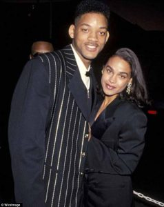 Will smith with her ex-wife