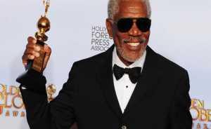 Morgan Freeman with Lifetime Accomplishment Awards